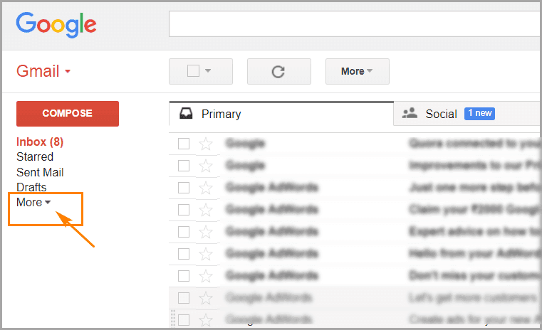 What Does It Mean To Archive An Email >> How To Find And Retrieve Archived Emails In Gmail